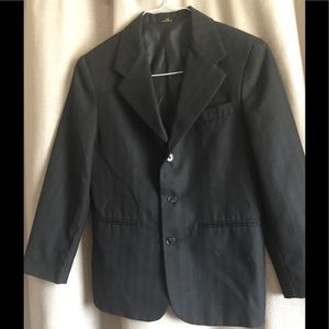 Other - Boys black 12 regular suit jacket